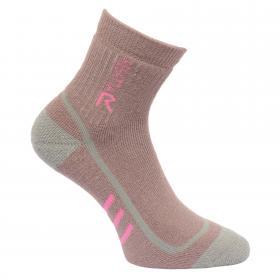 Regatta Womens 3 Season Heavyweight Trek and Trail Socks - TwilightMuave Rose