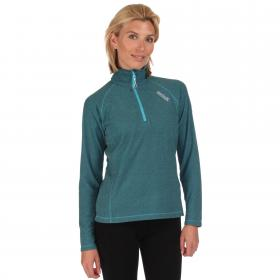 Womens Montes Fleece Atoll Blue