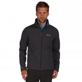 Cera III Softshell Jacket Iron Oxford Blue