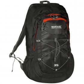 Atholl 35 Litre Daypack Black   Amber