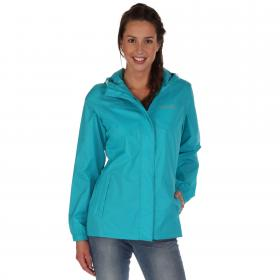 Womens Pack-It Jacket II Aqua