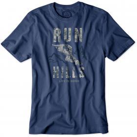 Life is Good Crusher T-Shirt - Darkest Blue