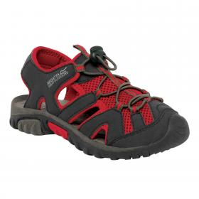 Regatta Deckside Junior - Black Red