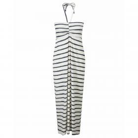 NosiLife Aurora Long Skirt   Dress - Stripe Version Calico Combo