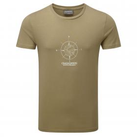 Erec Short-Sleeved T-Shirt Comp Sand