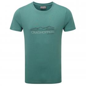 Erec Short-Sleeved T-Shirt Lake Green