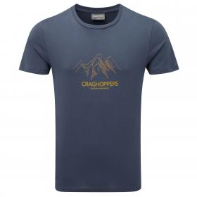 Erec Short-Sleeved T-Shirt Peak Dusk Blue