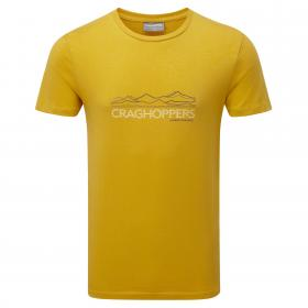 Erec Short-Sleeved T-Shirt English Mustard