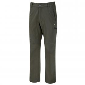 Kiwi Pro Stretch Trousers Dark Khaki