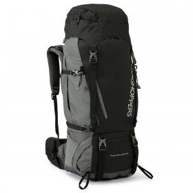 60L + 10L Expedition Rucksack Black