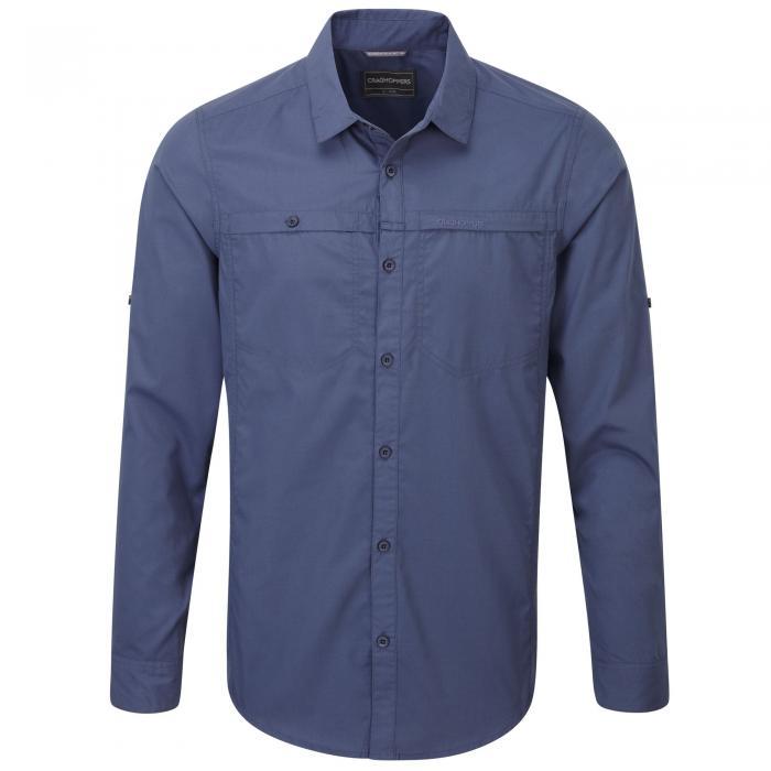 Kiwi Trek Long Sleeved Shirt Dusk Blue