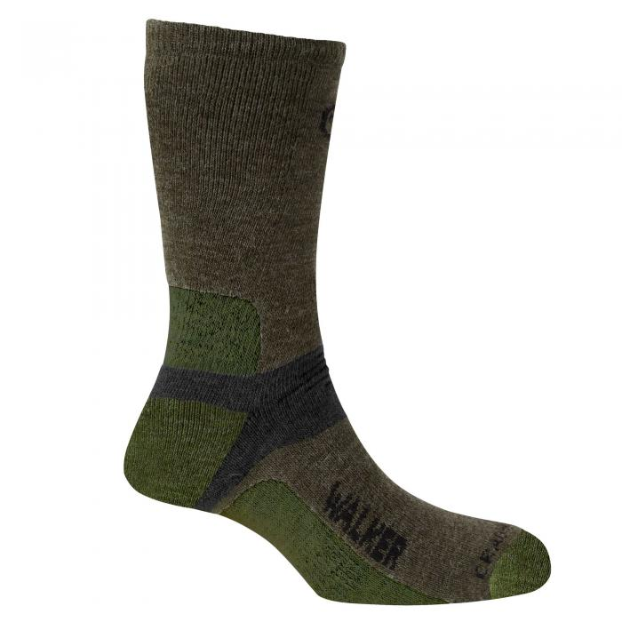Mens Walking Sock Olive/Cedar/Black