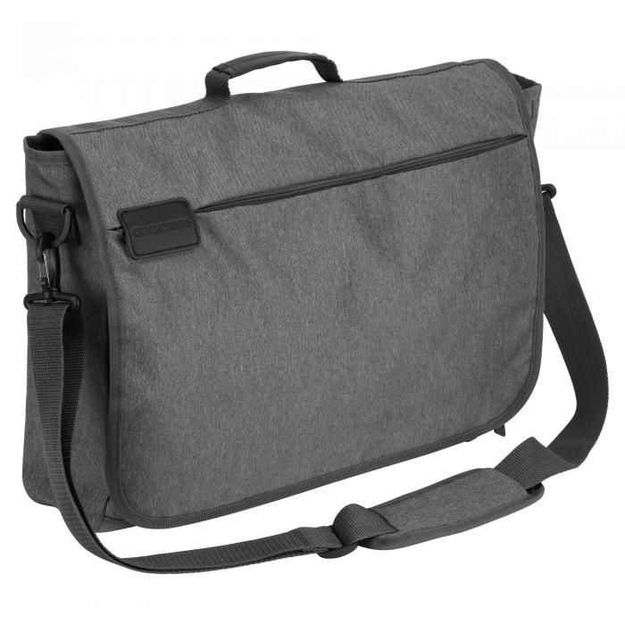 """17"""" Commuter Lap Top Bag With RFID PROTECTION Quarry Grey"""