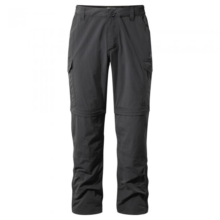 NosiLife Convertible Trousers Black Pepper