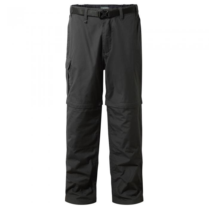 Kiwi Convertible Trousers Black Pepper
