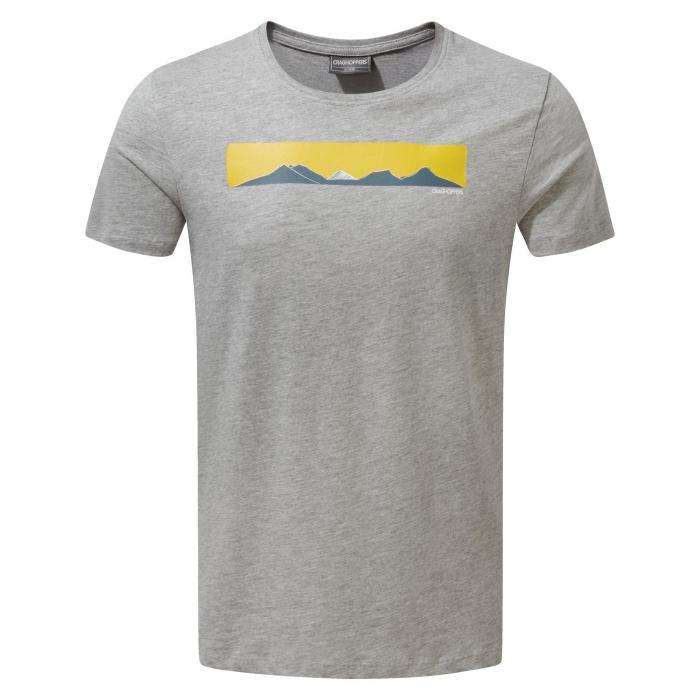 Eastlake Short Sleeved T-Shirt Soft Grey Marl
