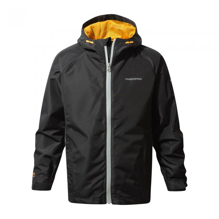 Discovery Adventures Waterproof Jacket Black Quarry Grey