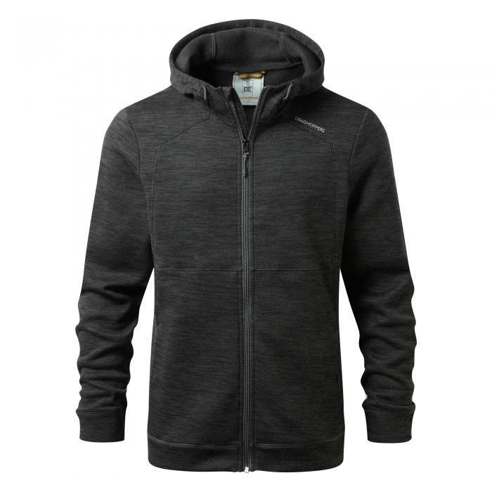 Vector Hooded Jacket Black