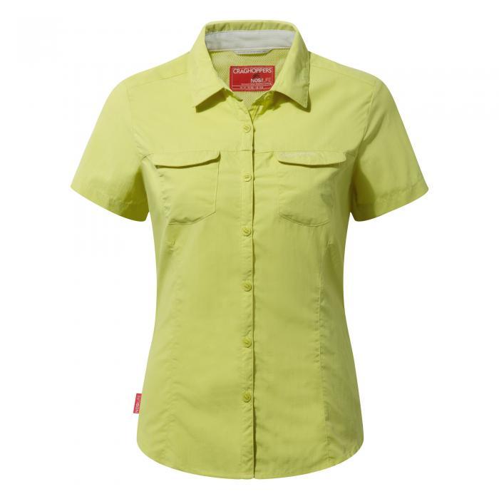 NosiLife Adventure Short Sleeved Shirt Limeade