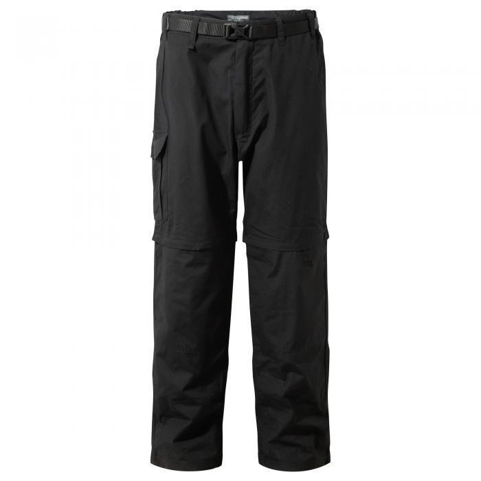 Kiwi Convertible Trousers Black
