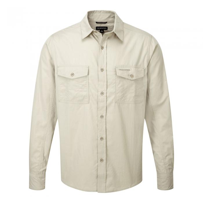 Kiwi Long Sleeved Shirt Oatmeal