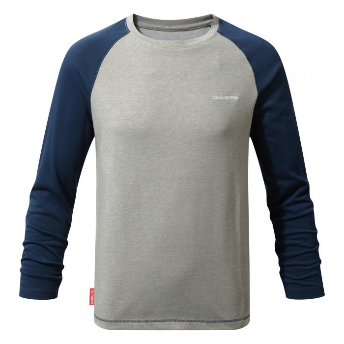 NosiLife Barnaby Long Sleeved T-Shirt Night Blue