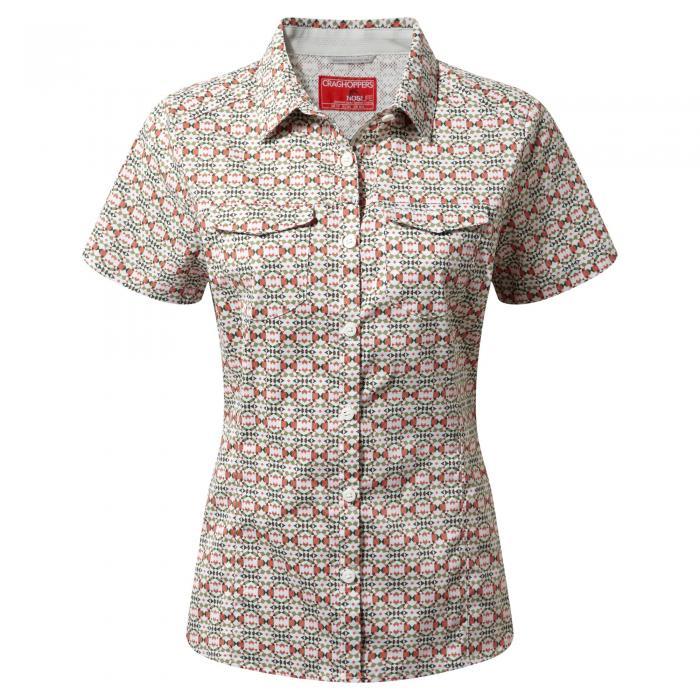 NosiLife Adventure Short Sleeved Shirt Soft Khaki Combo
