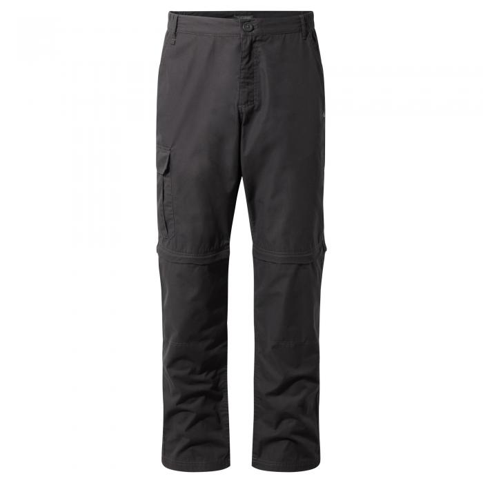 C65 Convertible Trousers Black Pepper