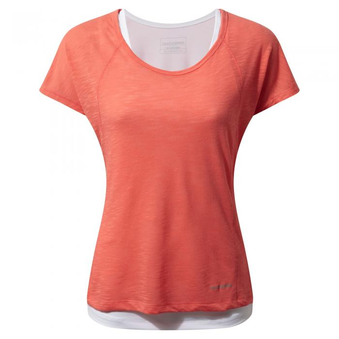 Pro Lite T-Shirt Bright Papaya