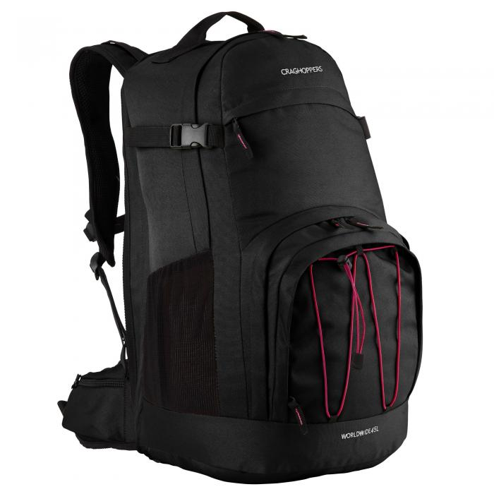 Worldwide 45L Rucksack Black