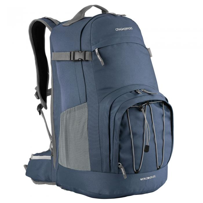 Worldwide 45L Rucksack Dark Navy