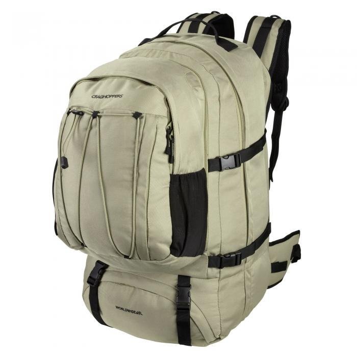 Worldwide 65L Rucksack Pebble