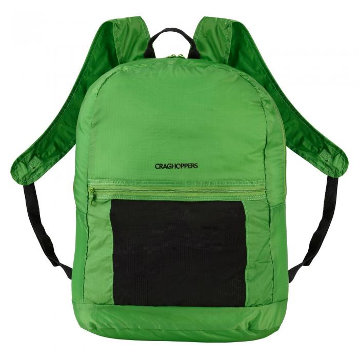 3 in 1 Packaway Rucksack Bright Green