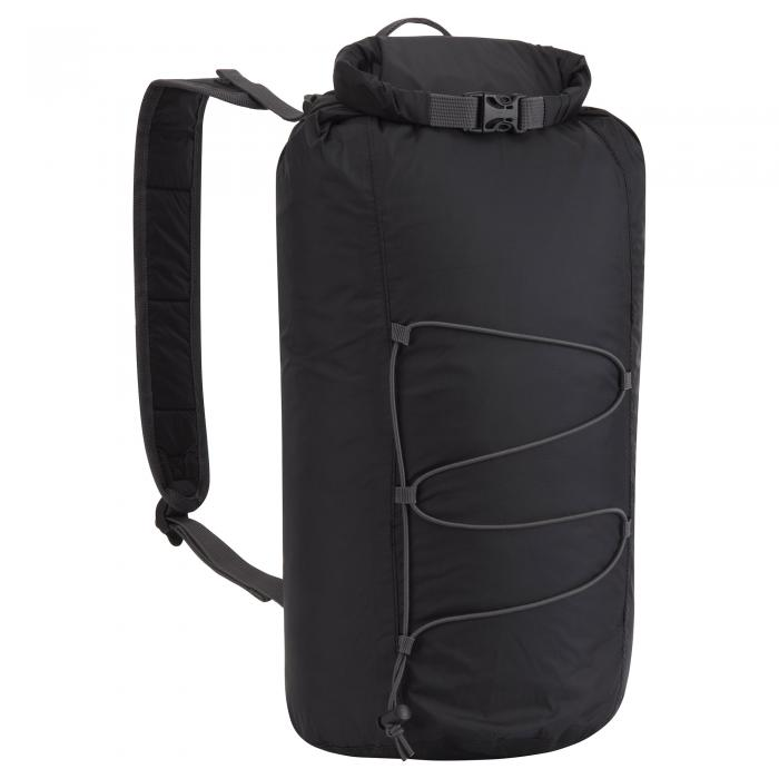 15L Packaway Waterproof Rucksack Black