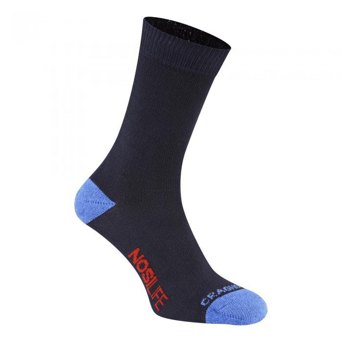 Single NosiLife Travel Sock Dark Navy