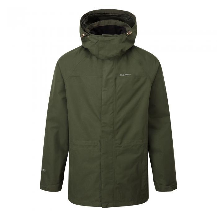 Ashton Long Gore-Tex Interactive Jacket Evergreen