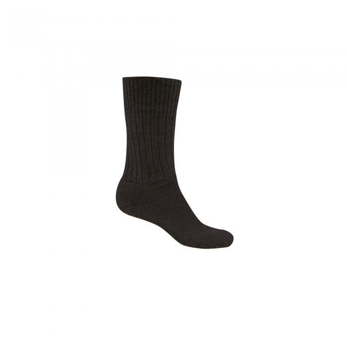 Mens Wool Hiker Sock Black Pepper Marl