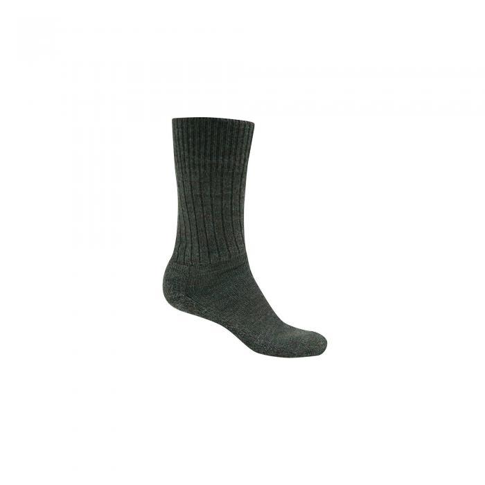Mens Wool Hiker Sock Parka Green Marl