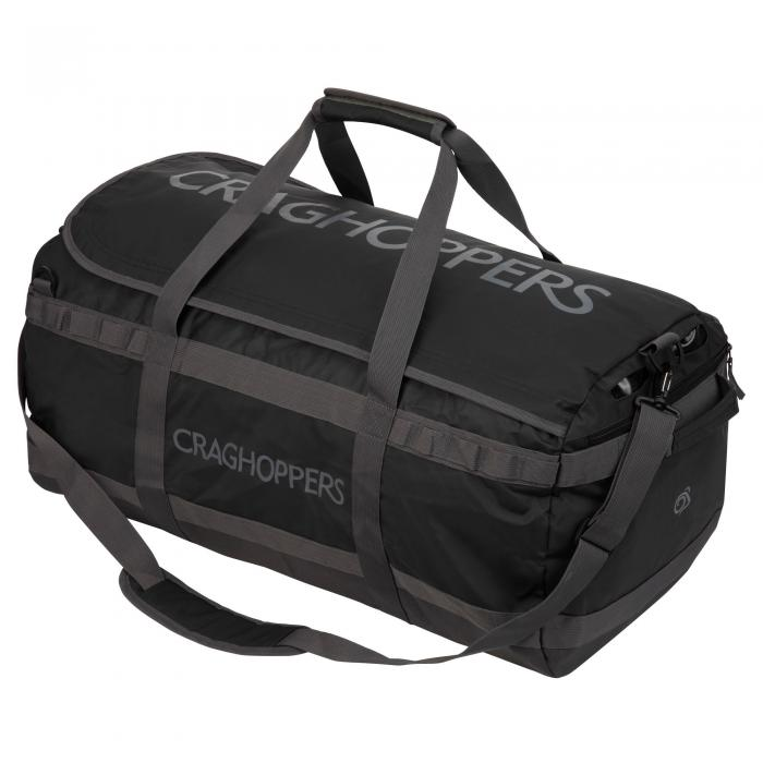 Longhaul Holdall 90L Bag Black/Quarry