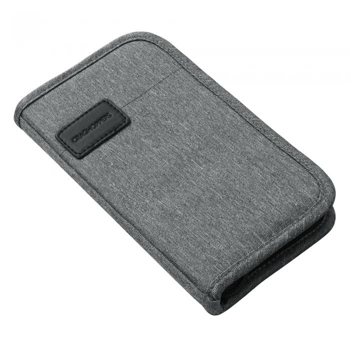 Travel Wallet Quarry Grey