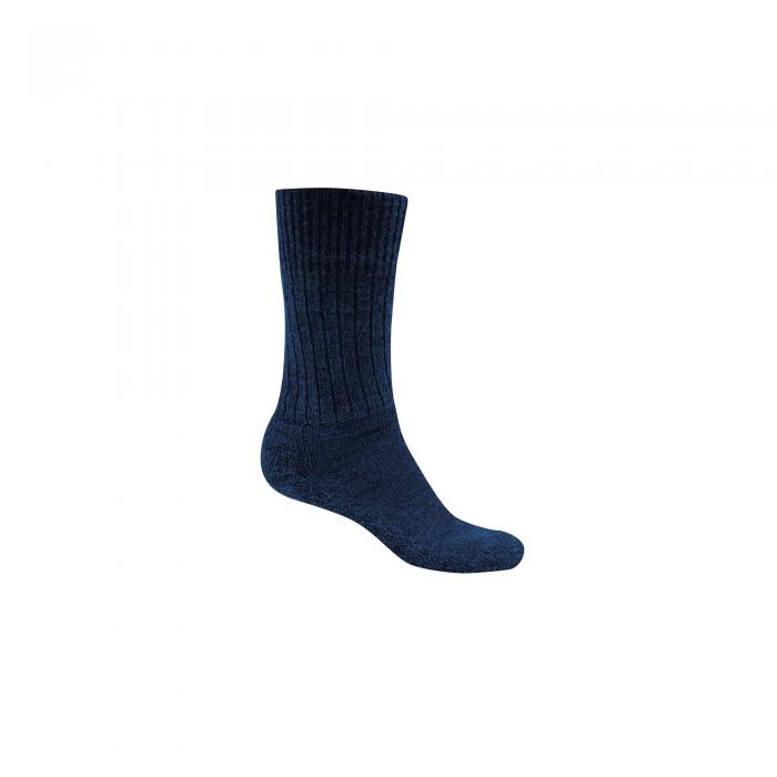 Womens Wool Hiker Sock Dark Navy Marl