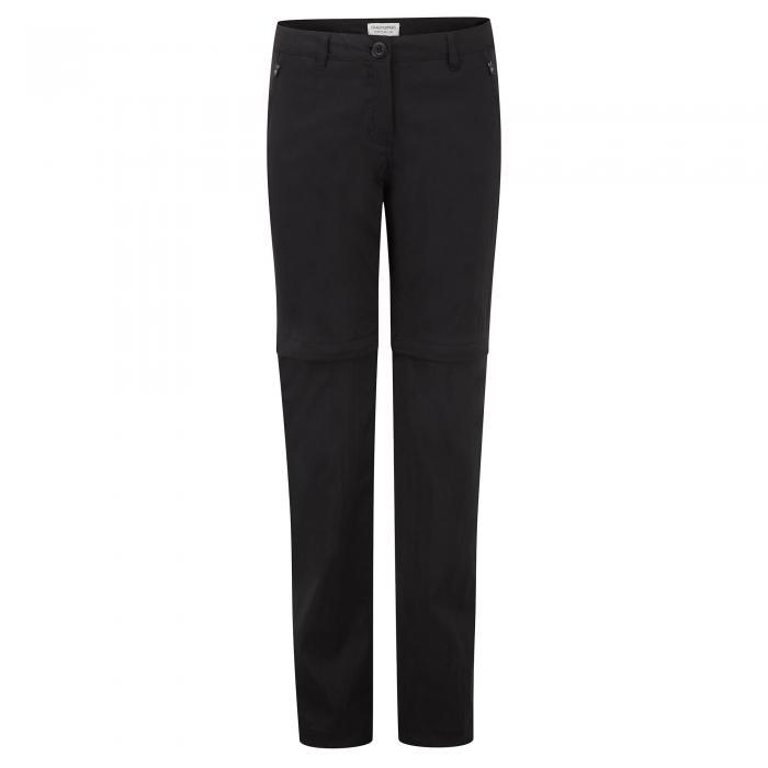 Kiwi Pro Convertible Trousers Black