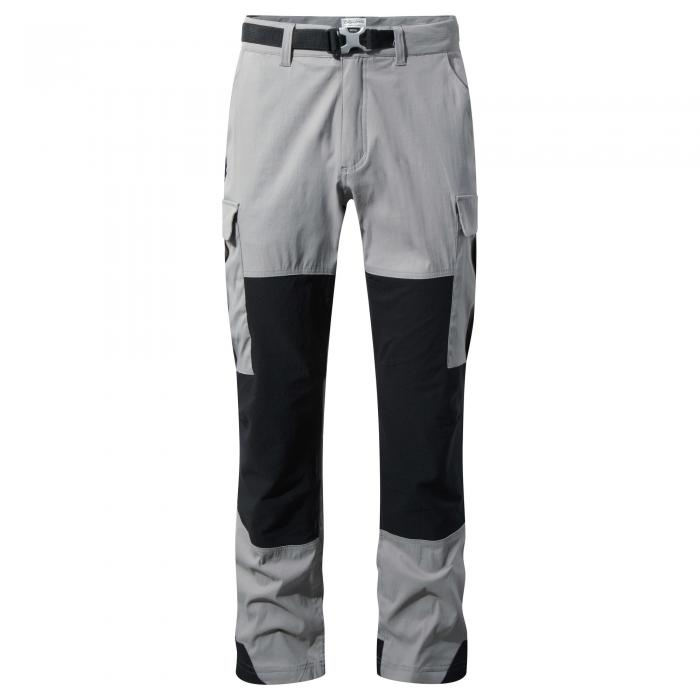 Kiwi Explorer Trousers Quarry Grey Black