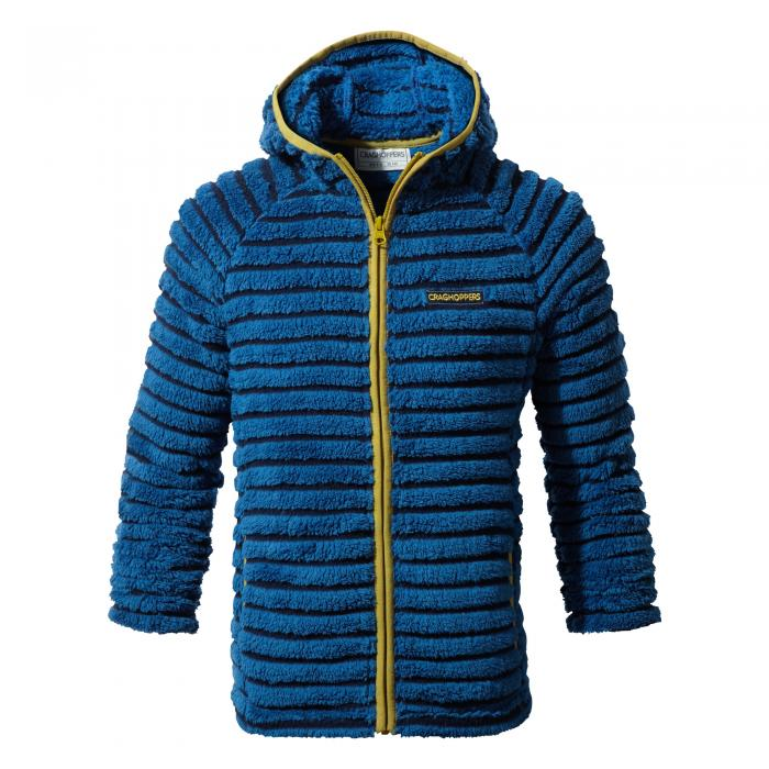 Farley Hooded Jacket Night Blue Combo
