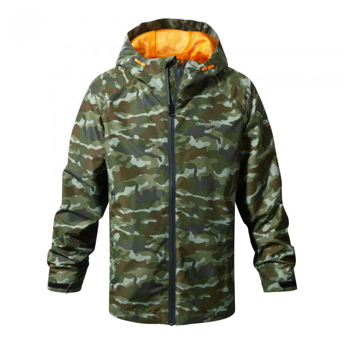 Discovery Adventures Waterproof Jacket Dark Moss Combo