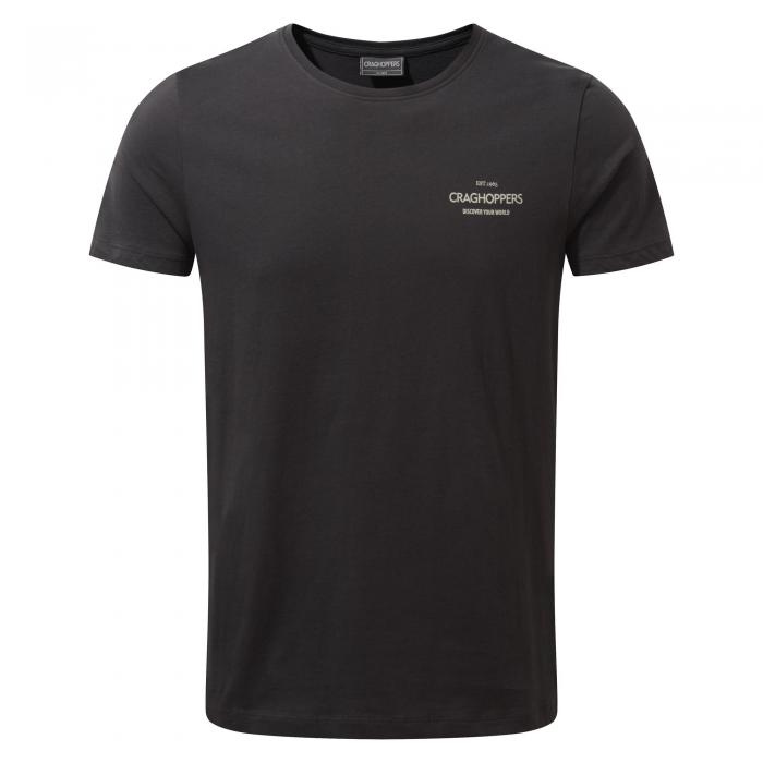 Eastlake Short Sleeved T-Shirt Black Pepper