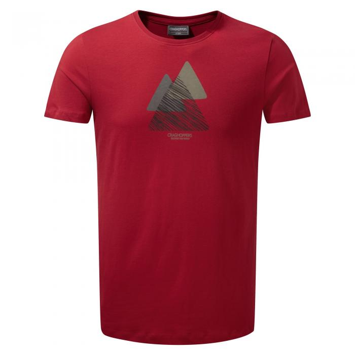 Eastlake Short Sleeved T-Shirt Barn Red