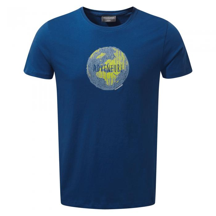 Eastlake Short Sleeved T-Shirt Deep Blue