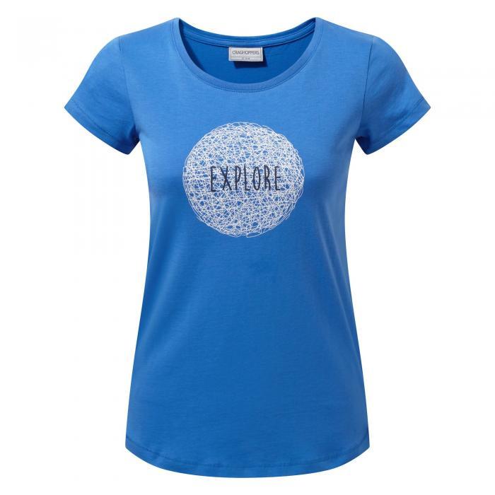 Tansa Short Sleeved T-Shirt BlueBell