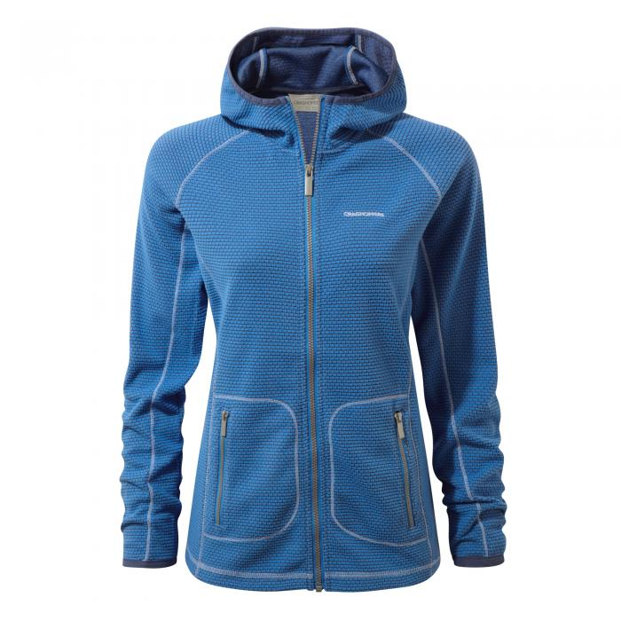 Hazelton Hooded Jacket Bluebell